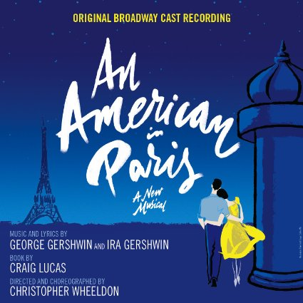 Songs from Broadway musical An American in Paris with Lyrics