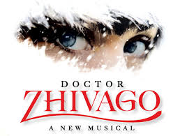Lyrics to the song from new Broadway musical Doctor Zhivago